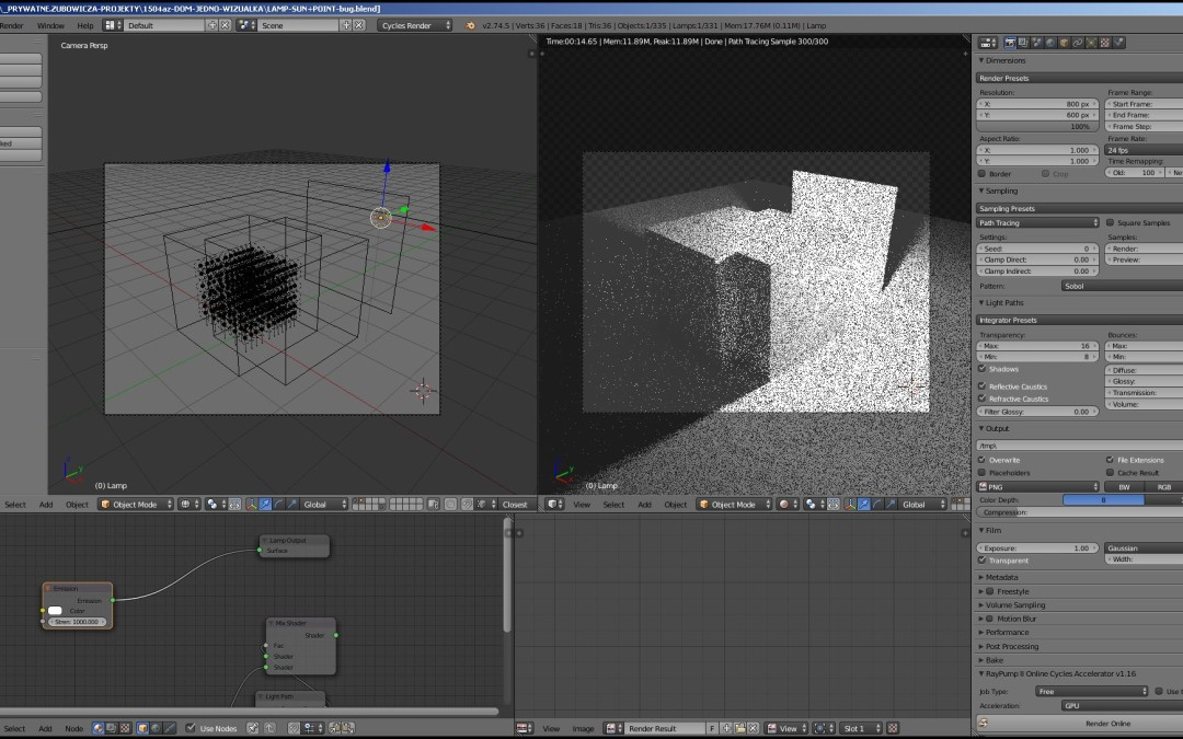 Czarne Szumy w Blenderze – Black Noise in Blender